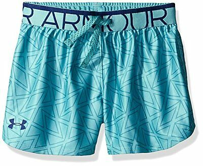 Play Up Under Armour-Pantaloncini sportivi da ragazza, cosmea, taglia: L (taglia
