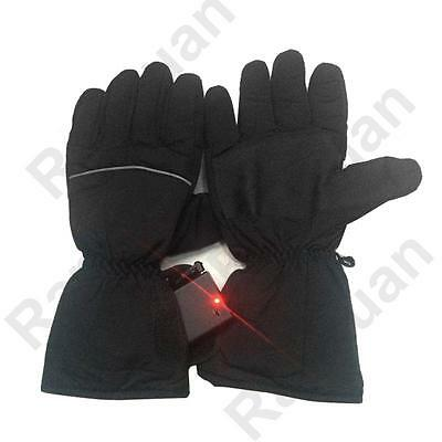 Electric Heated Gloves Battery Powered For Motorcycle Hunting Winter Outdoor