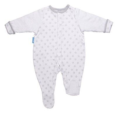 GroSuit BBA13909 Little Stars Twin Pack Pigiama, Multicolore, 6-9 Mesi