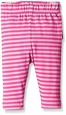 Maxomorra - BASI-M069 Legging Striped, Leggings unisex bimbi, Multicoloured/Pink