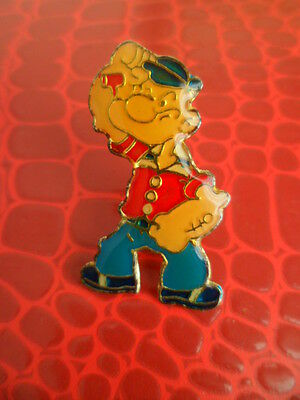Pins pin's BD  Popey polo rouge