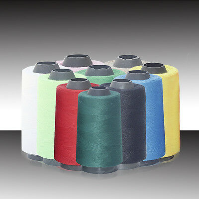 Fashion 3000 Yards Industrial Overlocking Sewing Machine Polyester Thread 1X