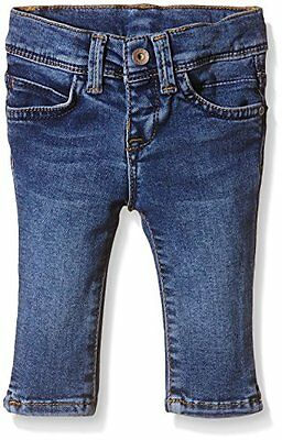 Mexx - MX3023393 Baby Girls Pant, Blu Bimbo 0-24, Blu (LIGHT MIRA WASH D00424),