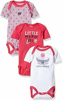 Absorba Underwear - LITTLE MARIN FILLE, Body unisex bimbi, PASSION 96, 92 (Tagli