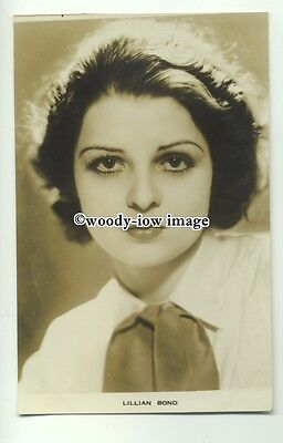 b3276 - Film Actress - Lillian Bond - postcard by Film Weekly