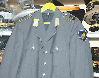 German Officers Parade Uniform Jacket With Insignia (A).
