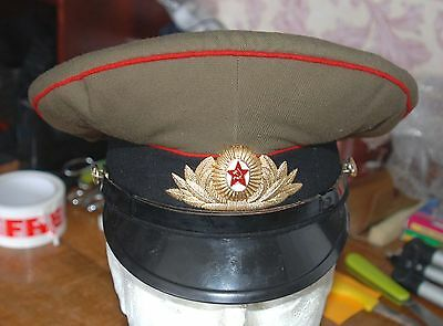 Russian Army-Navy Officers  Cap And Badge (Z8)