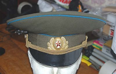 Russian Army- Navy Officers  Cap And Badge (Z5)