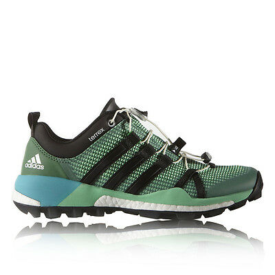 Adidas Terrex Boost Womens Green Outdoors Trail Walking Sports Shoes Pumps