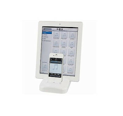 iPad iPhone iPod  Dock Docking Station Stand Charging Base Battery Charger USB