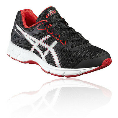 Asics Gel-Galaxy 9 GS Junior Black Cushioned Running Road Shoes Trainers