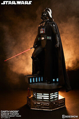 Darth Vader Sith Lord Star Wars Premium Format 1/4 Statue Sideshow