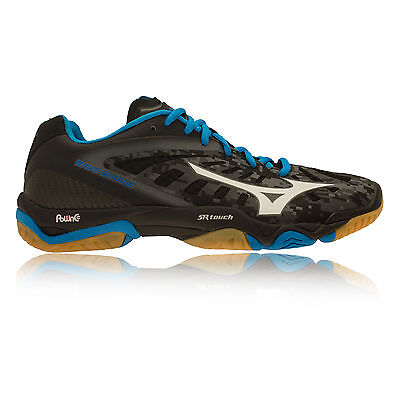 Mizuno Wave Mirage Mens Blue Black Cushioned Indoor Court Shoes Trainers