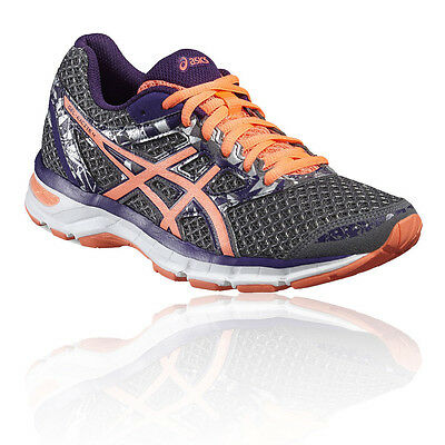 Asics Gel-Excite Womens Purple Black Cushioned Running Road Shoes Trainers