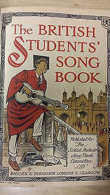 The British Student's Song Book: Music Score (J1)