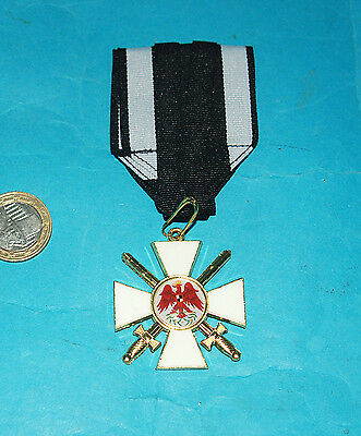 German Order Of The Eagle 2Nd Class Prussian Medal & Ribbon. (Rg)