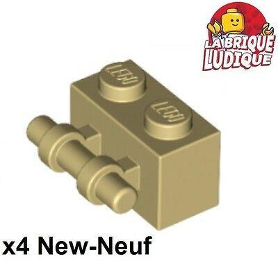 Lego 4x Brique Brick Modified 2x2 handle barre noir//black 30236 NEUF
