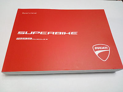 Ducati Panigale 1299 S owner's manual and maintenance ORIGINAL 91372811A NEW