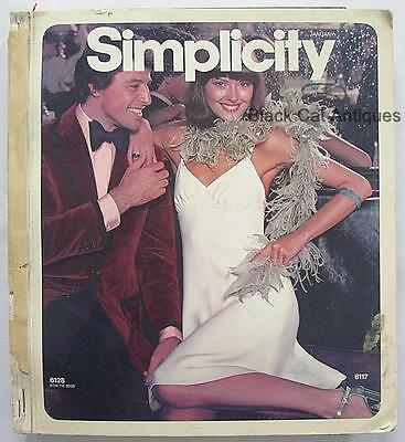 Original Simplicity Patterns Book/Catalog January 1973 Contemporary/Jiffy/Kids