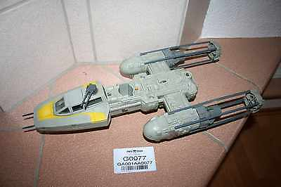 #G0077 - Y-WING FIGHTER incl. BOMB - STAR WARS VINTAGE 1977-1985