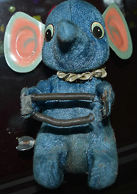 Antique / Vintage Made In Japan Elephant Toy Key Operated