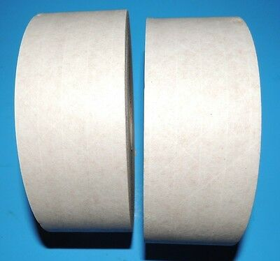 Classic 2 each 450 FT Rolls Reinforced Gummed Packing Paper Tape  USA