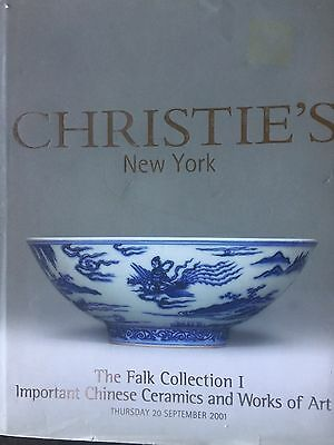 Christie's THE FALK COLLECTION I: IMP CHINESE CERAMICS & WORKS OF ART 9-20-2001