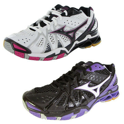 Mizuno Womens Wave Tornado 9 Indoor Volleyball Shoes