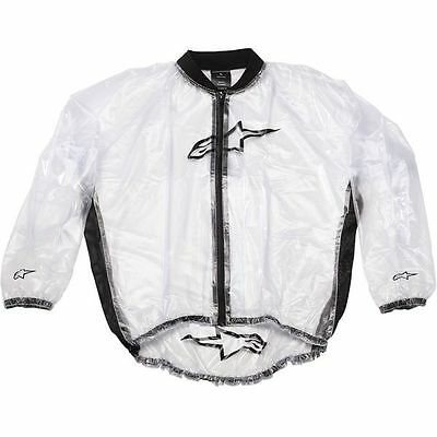 ALPINESTARS Motorcycle Mud Jacket (Clear) Choose Size