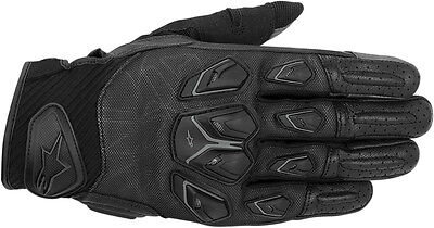 ALPINESTARS Masai Textile/Leather Touch Screen Riding Gloves (Black) Choose Size