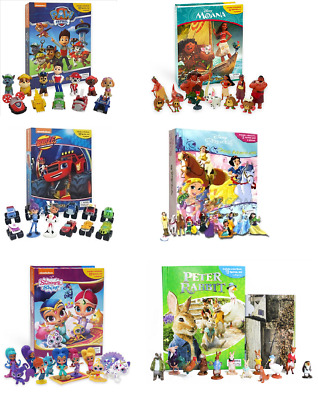 Busy Books Shimmer And Shine - Blaze - Paw Patrol - And Many Many More