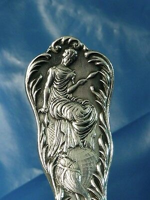 Columbian Exposition Woman's Building sterling silver SOUVENIR SPOON
