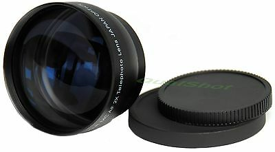 52mm 2X Telephoto Tele LENS for Canon EOS Rebel Camera New