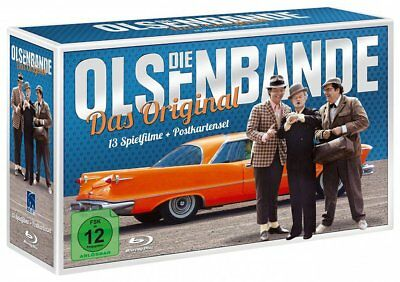 Die Olsenbande - Blu-Ray-Box + Postkartenset # 13-BLU-RAY+DVD-BOX-NEU