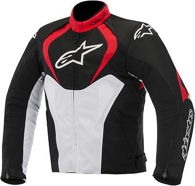 ALPINESTARS T-JAWS Waterproof Motorcycle Jacket (Black/Red/White) L (Large)