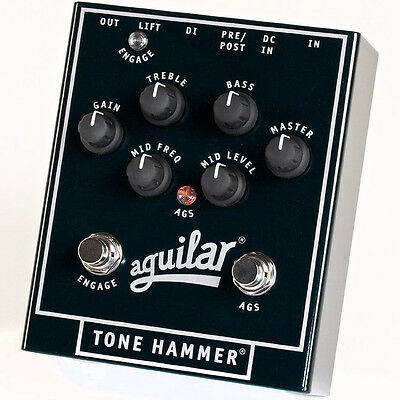 New Aguilar Tone Hammer Bass Preamp / Direct Box Pedal