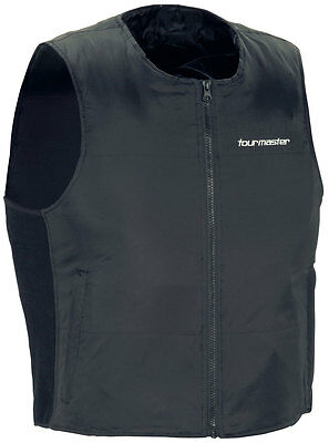 TOURMASTER Synergy 2.0 Heated Motorcycle Vest Liner (Black) XL (X-Large)