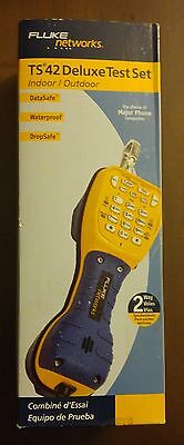 New Fluke Networks TS42 DELUXE Test Set ==  Get FREE SHIPPING!