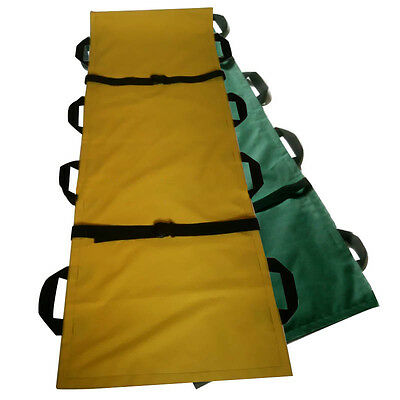 Foldable Rescue Patient Handles Stretcher Medical Ambulance Emergency Portable