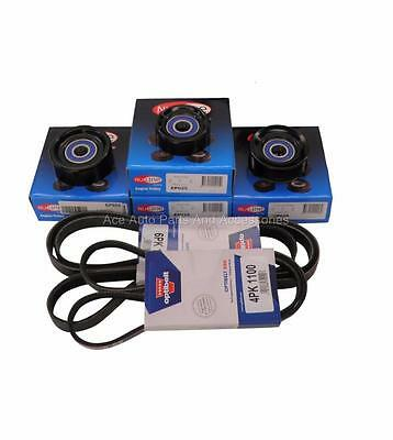 Drive Belt & Pulley Kit For Holden Commodore VX 5.7L V8 GEN 3 LS1 SS