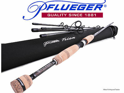 PFLUEGER Trion Transcendent Travel Spin Fishing Rod 6'6' 5 piece 2-5kg+Hard Case