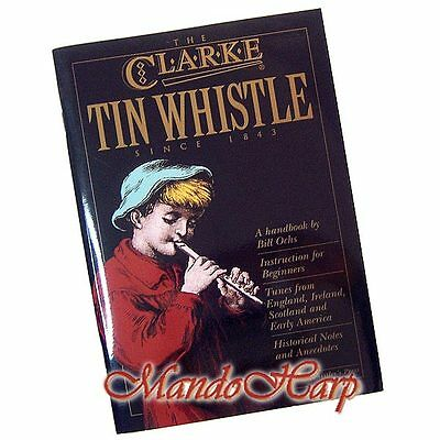 Clarke Tutor Book and CD for Tin Whistle - NEW
