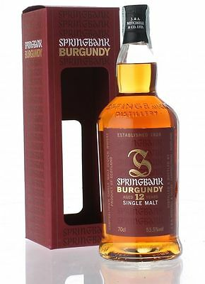 Springbank 12 Year Old Burgundy Matured Cask Strength Single Malt Scotch Whisky