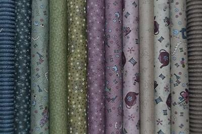 Lot de 12 coupons Patchwork Lynette Anderson – Pins and Needles