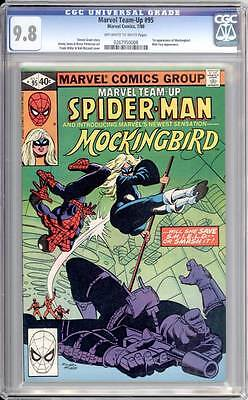Marvel Team-Up # 95  Spider-Man & Mockingbird 1st app !   CGC 9.8 scarce book !