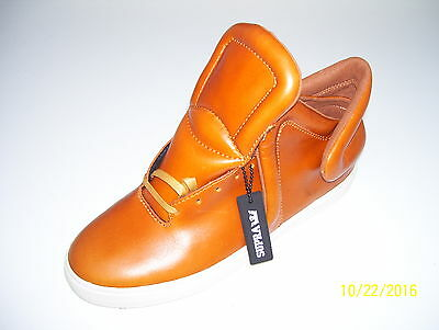 Supra Falcon Mens Mid Top Trainers Sneakers Shoes UK 8 Caramel