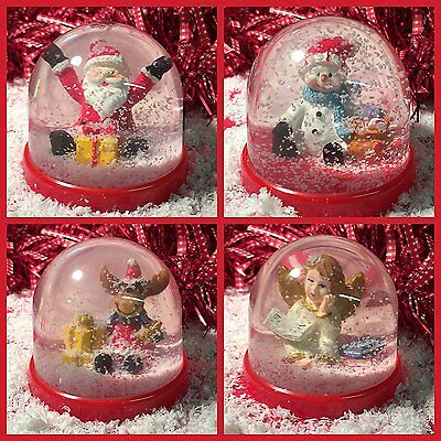 Assorted Christmas Water Ball Snow Globe with Xmas Character ~ Sent at random