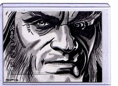 """X-Men 3 """"The Last Stand""""  Sean Pence Sketch  card"""