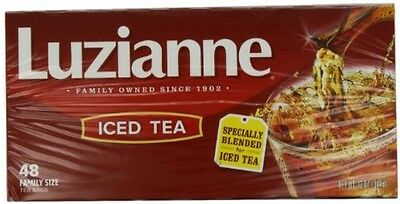 Luzianne Specially Blended for Iced Tea, Family Size, 48 Count