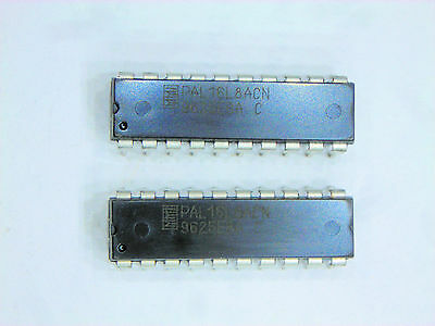 "PAL16L8ACN  ""Original"" MMI  20P DIP CMOS IC  2  pcs"